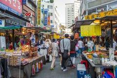SEOUL SYDKOREA - MAJ 16: Namdaemun marknad i Seoul Royaltyfria Foton