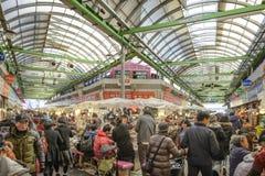 Seoul Sydkorea marknadsplats Fotografering för Bildbyråer