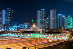 Seoul Toll Booth Royalty Free Stock Photo