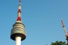 Seoul torn i sommar i Sydkorea Arkivbild