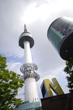 Seoul tower. One of most popular city landmarks. South Korea royalty free stock image