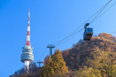 Seoul tower Royalty Free Stock Images