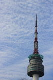 Seoul Tower in Korea Royalty Free Stock Photography