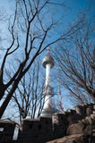 Seoul Tower Stock Photo