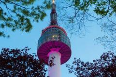Seoul Tower stock image