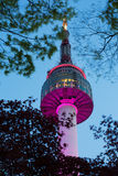 Seoul Tower Stock Image