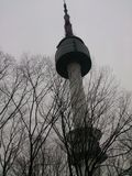 Seoul tower Stock Photography