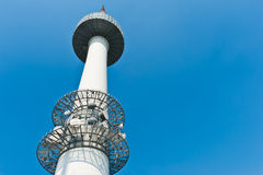 Seoul Tower with sky , South Korea Royalty Free Stock Image