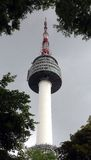Seoul Tower, South Korea Stock Photography