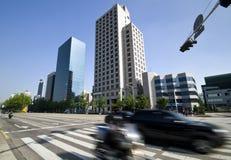 Seoul traffic Stock Images