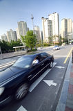 Seoul traffic Royalty Free Stock Images