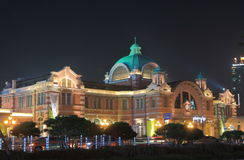 Seoul train station historical building South Korea Royalty Free Stock Photo