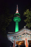 Seoul-Turm Stockbilder