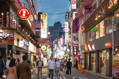 Seoul uteliv Royaltyfria Foton