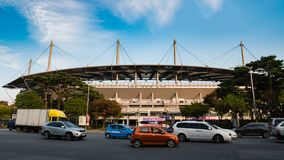Seoul World Cup Stadium Lizenzfreies Stockfoto