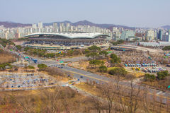The Seoul World Cup Stadium is South Korea Royalty Free Stock Image