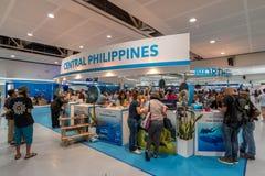 9.2017 SEP ταξίδι EXPO Φιλιππίνες θερέτρου DRTDiving σε SM μέγα Στοκ εικόνες με δικαίωμα ελεύθερης χρήσης