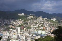 13 sep 2016 de stad van Nagasaki, Japan Royalty-vrije Stock Fotografie