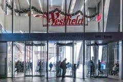 29 2017 SEP fasada centrum handlowe - NOWY JORK, usa/- Nowy Yor Zdjęcia Stock