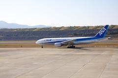 29 sep Het vliegtuig 2015 van All Nippon Airways (ANA) Stock Afbeelding