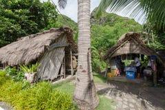 Sep 21,2017 Pamiątkarski sklep przy Ivatan wyspą, Batanes Obrazy Stock