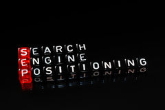 SEP Search Engine Positioning black Stock Photos