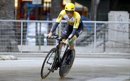Sep Vanmarcke Team Lotto - Jumbo Royalty Free Stock Photo