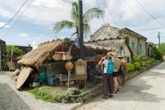 Sep 21,2017 zakupu Turystyczny prezent przy Ivatan wyspą, Batanes Zdjęcia Stock