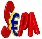 SEPA Стоковые Изображения RF