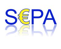 SEPA lizenzfreie abbildung