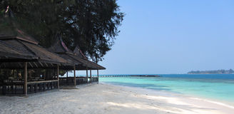 Sepa Island, Indonesia Royalty Free Stock Images