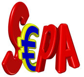 SEPA royalty free stock images