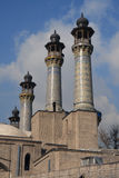 4 of 8 minarets of Sepahsalar Stock Images
