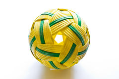 Sepak takraw ball. Is asian sport stock photos