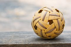 Sepak takraw ball Royalty Free Stock Photos