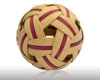 Sepak takraw ball. Royalty Free Stock Photography