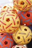 Sepak Takraw Balls Stock Photo