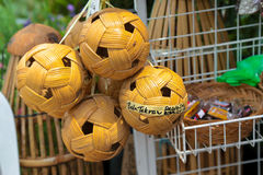 Sepak takraw / Kick volleyball ball. Royalty Free Stock Images