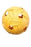 亚洲球sepak体育运动takraw 库存图片