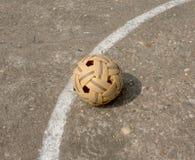 Sepaktakraw, de populaire sport van Zuidoost-Azië Royalty-vrije Stock Foto