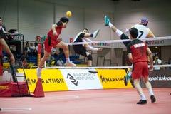 Sepaktakrew-Sport. Stockbilder