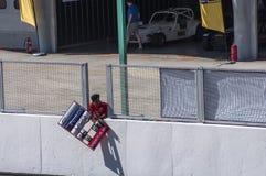 SEPANG, ΜΑΛΑΙΣΊΑ - 3 ΦΕΒΡΟΥΑΡΊΟΥ 2018: Sepang διεθνές Circ Στοκ φωτογραφία με δικαίωμα ελεύθερης χρήσης