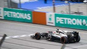 SEPANG - 30 DE MARÇO: Jenson Button Imagem de Stock Royalty Free