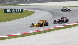 Sepang F1. April 2010 Stockfotografie