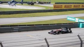 SEPANG - 29 MAART: Jenson Button Stock Afbeeldingen