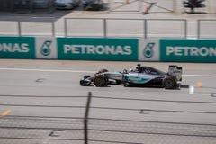 SEPANG - 29 MAART: Lewis Hamilton Stock Afbeeldingen