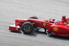 Malasio Grand Prix F1 2012 de Petronas Imagen de archivo libre de regalías
