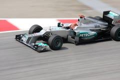 Petronas Malaysian Grand Prix F1 2012 Stock Images
