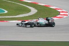 Petronas Malaysian Grand Prix F1 2012 Stock Photography