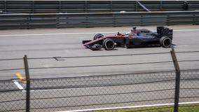 SEPANG - MARCH 29: Fernando Alonso royalty free stock photo